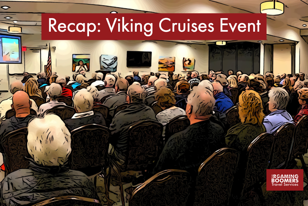 Crowd at Viking Cruises Event in Scottsdale