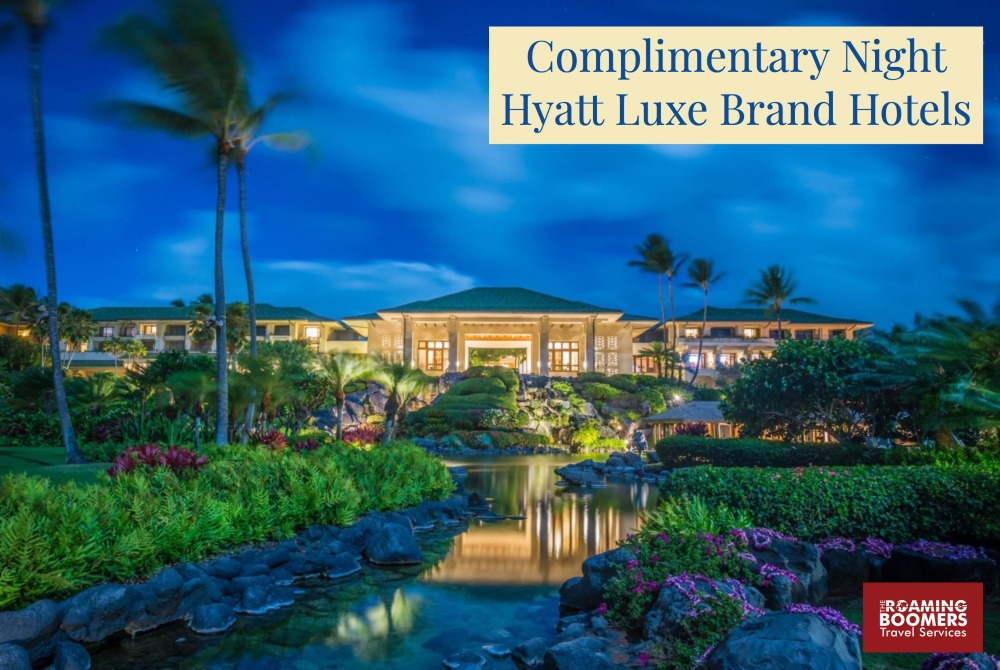 Complimentary Perks at Hyatt Luxury Brand Hotels